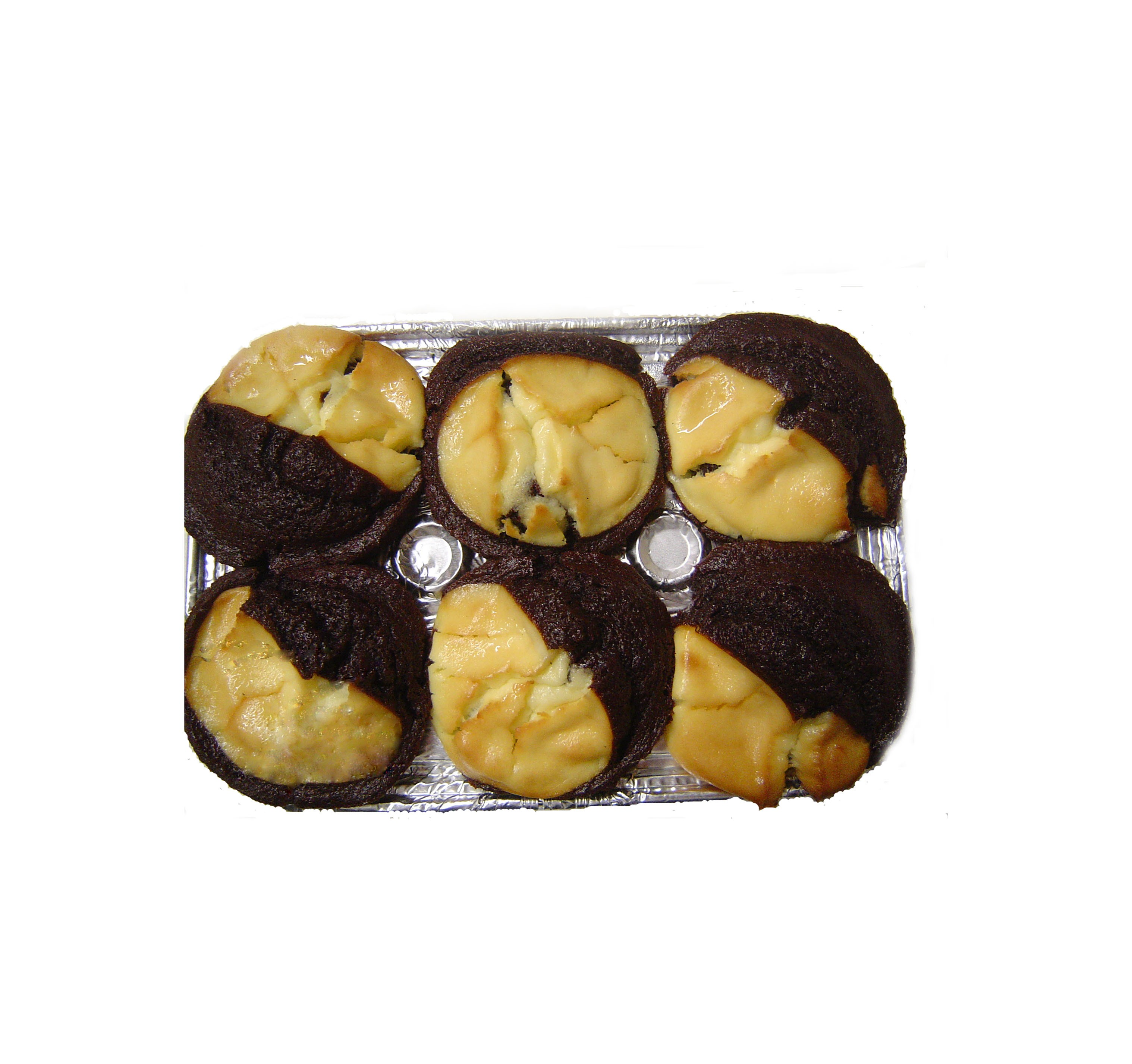Chocolate Cheese Muffins Package (6 Pack)